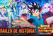 Trailer da história de Super Dragon Ball Heroes: World Mission