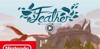 Trailer de lançamento de Feather