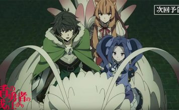 Trailer do episódio 16 de The Rising of the Shield Hero