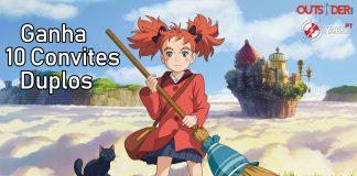 Ganha 10 convites duplos para o filme anime Mary e a Flor da Feiticeira
