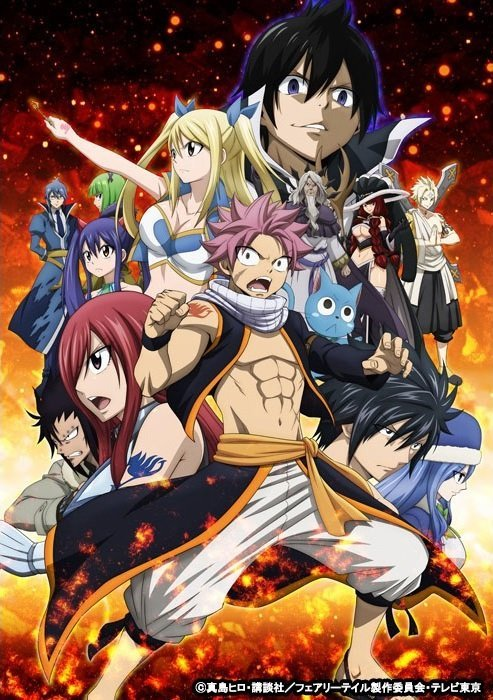 Visual do climax de Fairy Tail 3