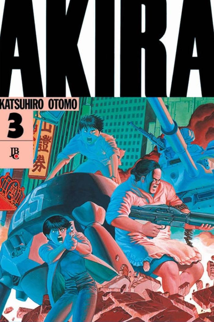 Akira sofre reajuste de preço pela editora JBC