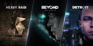 Anunciados para PC: Detroit: Become Human, Heavy Rain e Beyond: Two Souls