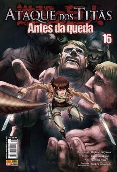 Attack on Titan Before the Fall será reajustado pela Panini