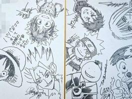 Criadores de One Piece, Naruto e My Hero Academia reuniram-se na casa de amigo e criaram história
