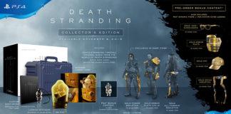 Edições especiais de Death Stranding