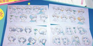 Filme anime de Omoi, Omoware, Furi, Furare tem prévia do character design revelado