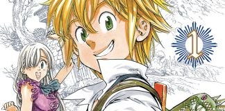 Mangá The Seven Deadly Sins termina no próxima capítulo