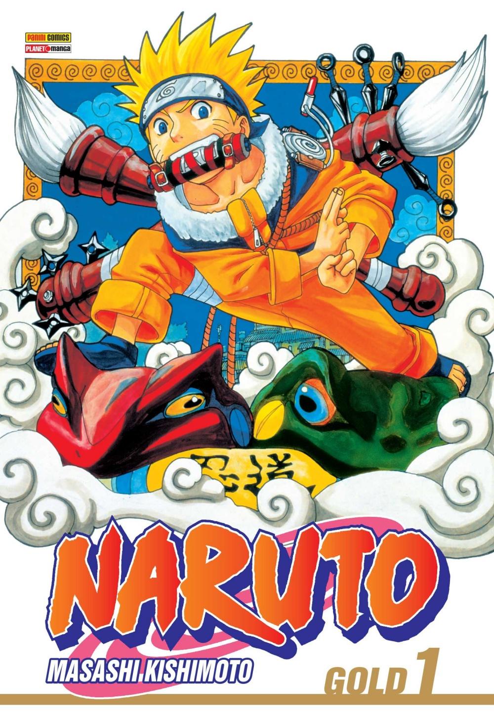 Naruto chega em formato digital pela Panini