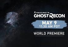 Novo Ghost Recon vai ser anunciado a 9 de Maio