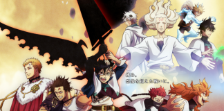 Novo visual de Black Clover