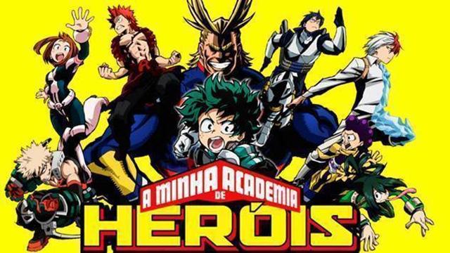 Pede aqui para manterem as vozes portuguesas de My Hero Academia no BIGGS!