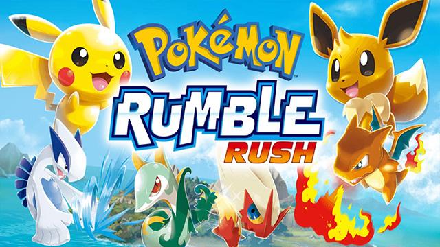 Pokemón Rumble Rush para Smartphones