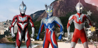 Show Ultraman Heroes no Anime Friends 2019