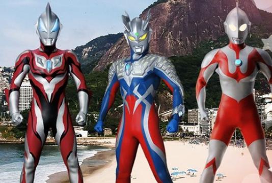 Show Ultraman Heroes no Anime Friends 2019