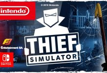 Trailer de lançamento de Thief Simulator (Nintendo Switch)
