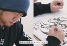 Vê aqui o criador de Fairy Tail a desenhar a mascote da Kirin