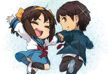 Volume final de Suzumiya Haruhi-chan com nova novel