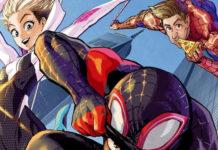 Artista de One-Punch Man desenha arte para DVD/BD de Spider-Man: Into the Spider-Verse