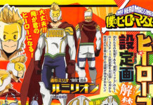 Design dos The Big 3 de My Hero Academia 4
