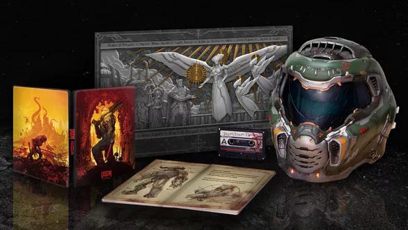 Edição de colecionador de Doom Eternal