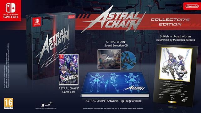 Esta é a Edição de Colecionador de Astral Chain