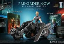 Esta é a edição de colecionador de Final Fantasy VII Remake