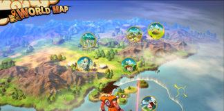 Este é o mapa de Dragon Ball Z: Kakarot