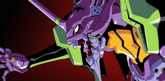 "Evangelion an Netflix sem ""Fly Me to the Moon"""