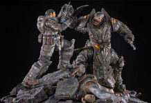 Figura de Gears of War: Marcus vs General RAAM