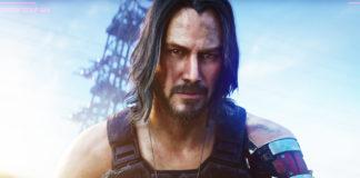 Keanu Reeves em Cyberpunk 2077