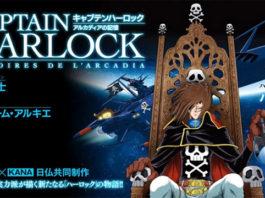 Novo mangá de Captain Harlock