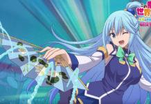 Novo trailer do jogo de Konosuba
