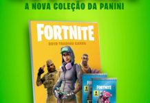 Panini lança em Portugal coleção de Fortnite