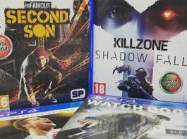 Passatempo: Killzone, inFamous Second Son, Watch Dogs e FIFA 18