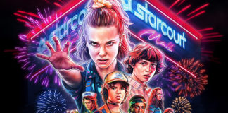 Poster épico de Stranger Things 3