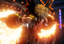 Screenshots de Bakugo (My Hero Academia) em Jump Force