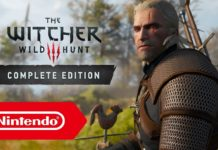 The Witcher 3 a 540p no modo portátil