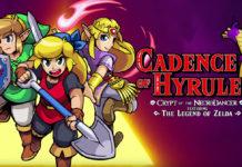 Trailer de apresentação de Cadence of Hyrule