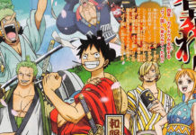 novo designer de personagens e visual de One Piece
