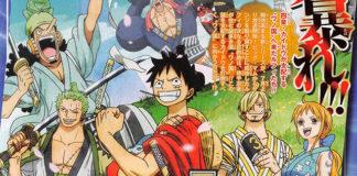 novo designer de personagens e visual de One Piece