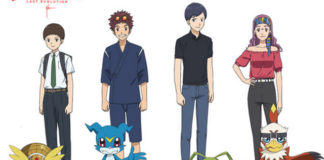 Elenco de Digimon Adventure: Last Evolution Kizuna