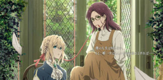Imagem promocional do filme Violet Evergarden Side Story