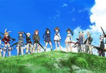 Imagem promocional do filme de Strike Witches 501