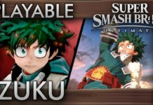 Izuku Midoriya em Super Smash Bros. Ultimate?
