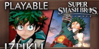Izuku Midoriya em Super Smash Bros. Ultimate?