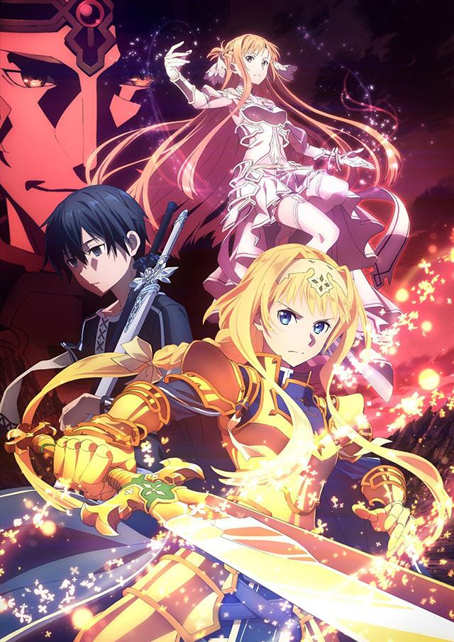 Novo trailer e imagem promocional da segunda parte de Sword Art Online: Alicization