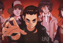 Stranger Things é transformado num anime dos anos 80