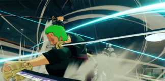 Trailer do DLC de Zoro para One Piece: World Seeker