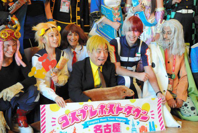 O Perfeito Kawamura também participou na festa e fez cosplay de Sanji